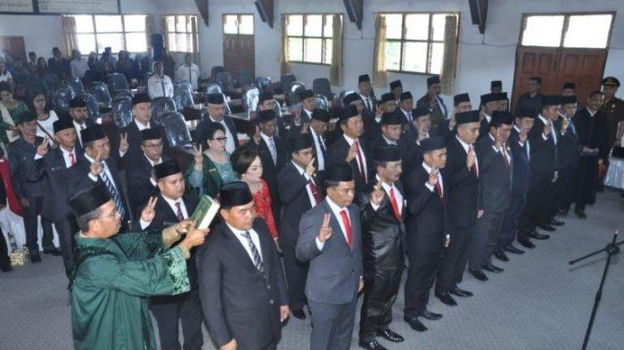 Hanya Dua Legislator Perempuan, Poktak Pakpahan jadi Pimpinan Sementara DPRD Taput