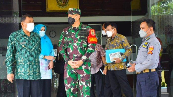Bupati Deli Serdang Ashari Tambunan Terima Langsung Kunjungan Dinas Penerangan TNI Angkatan Darat