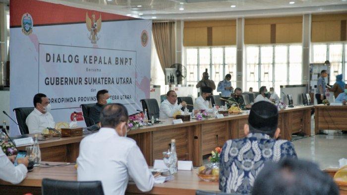 Cegah Paham Radikalisme, Ketua BNPT Hadiri Dialog Bersama Pjs Wali Kota Medan