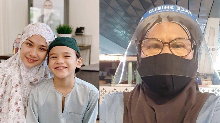 Tanda Sayang Menantu & Cucu, Ibunda Ashraf Rela Dikarantina 2 Kali Demi Temani BCL & Noah Sinclair