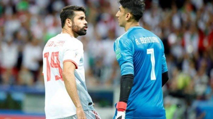 Spanyol Kalah dan Koke Gagal Penalti, Ternyata Diego Costa Sudah Prediksi Sebelumnya