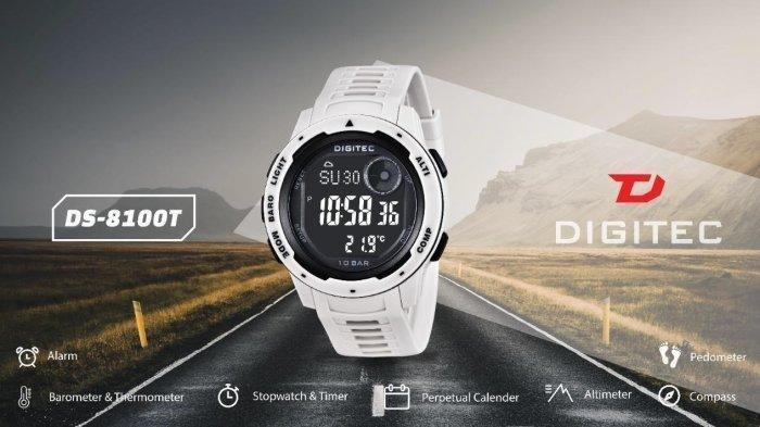 Digitec DS-8100T, Jam Tangan Tangguh yang Siap Temani Kamu Berpetualang