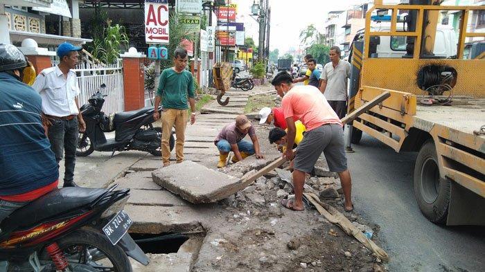 Persoalan Banjir Jadi Prioritas Bobby Nasution, Dinas PU Kebut Normalisasi Drainase
