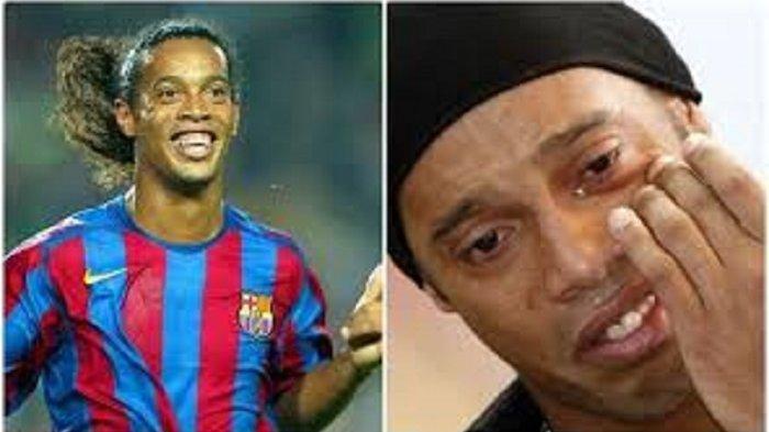 Kehidupan Sedih Ronaldinho Kini, Makin Gemar Pesta dan Mabuk Setelah Sang Ibu Meninggal Kena Corona