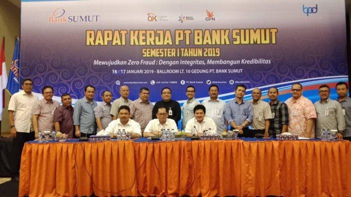 Rapat Kerja Bank Sumut, Direksi Tekankan Zero Fraud