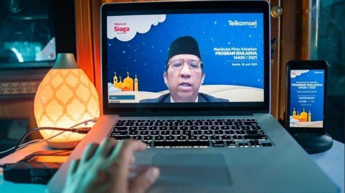MERIAHKAN Idul Adha, Telkomsel Salurkan 906 Ekor Hewan Hingga Pelosok Negeri