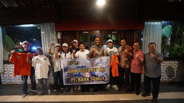 Bank Sumut Resmi Jadi Mitra Tim Reli BRM Motorsport