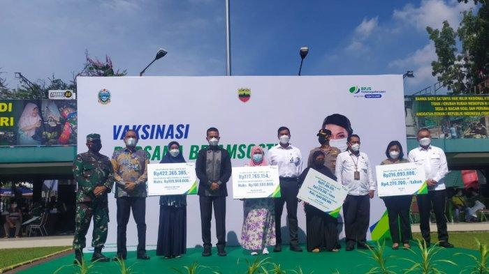 BPJamsostek Berikan 10 Ribu Dosis Vaksin Kepada Pekerja di Medan