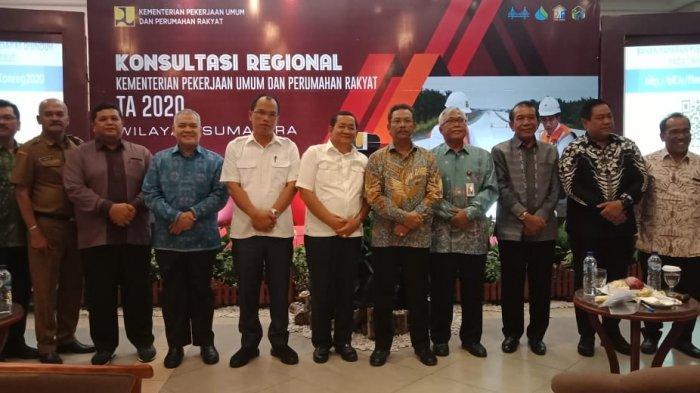 Kementerian PUPR Gelar Konreg di Danau Toba, Rumuskan Program Infrastruktur 2021 Wilayah Sumatera