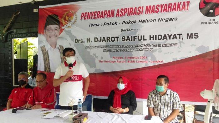 Djarot Saiful Hidayat Serap Aspirasi Pelaku Pariwisata, Bahas Antisipasi Lonjakan Usai Pandemi