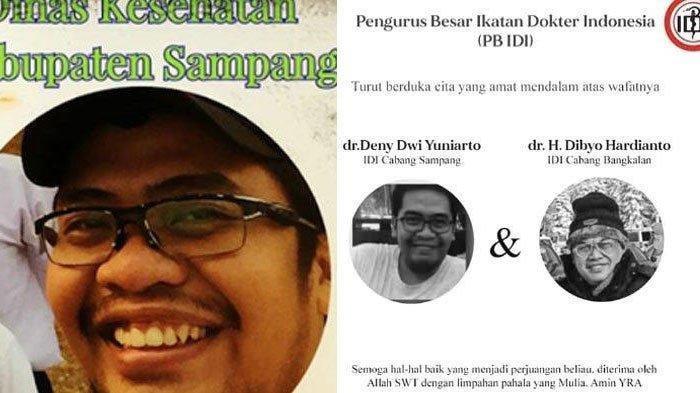 Kisah Pilu Dokter Denny Meninggal Terinfeksi Covid-19, Air Mata Berlinang Baca Pesan Terakhirnya