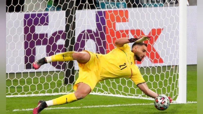 Donnarumma Pahlawan Italia Juara Euro, Kandaskan Mimpi Three Lions di Markas Kebanggaan