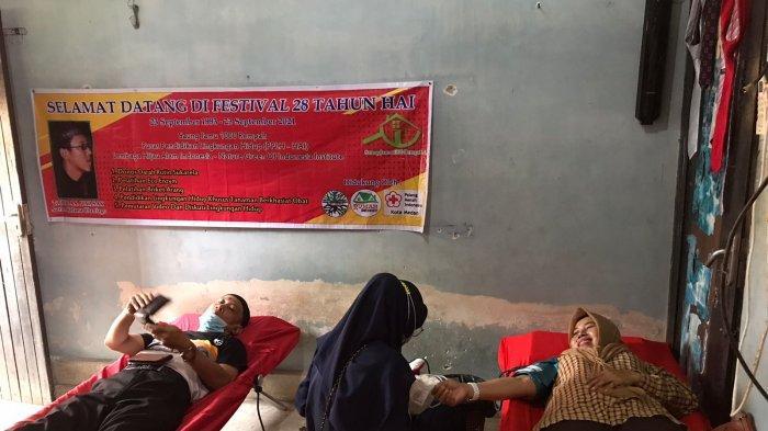 Festival Hijau Berisikan Kegiatan Donor Darah dan Pelatihan Eco Enzim