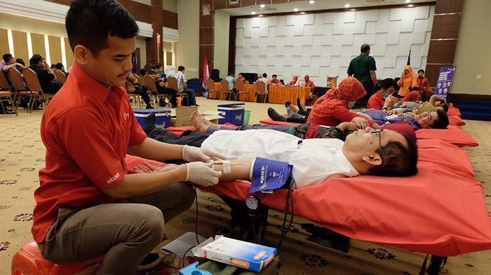 Bank Sumut Adakan Kegiatan Donor Darah