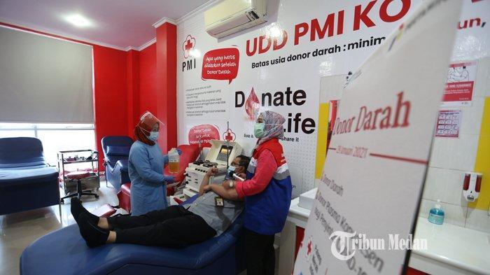 Baru Terima Delapan Pendonor Plasma Konvalesen, PMI Medan Surati Satgas Covid-19 dan Rumah Sakit