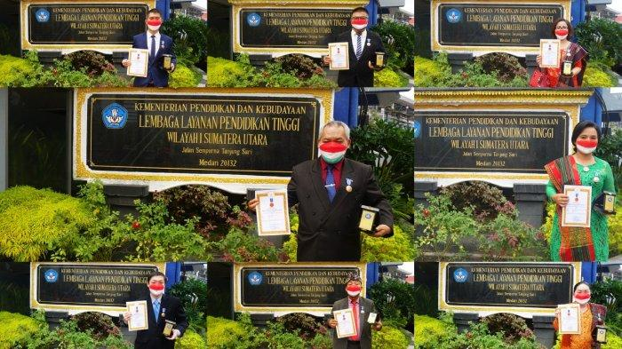 9 Dosen STMIK-STIE Mikroskil Dianugerahkan Tanda Kehormatan Lencana Tri Dharma Perguruan Tinggi