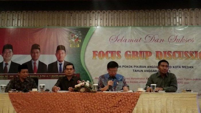 DPRD Medan Gelar FGD: Masih Banyak Hasil Reses Tak Diakomodir dengan Baik