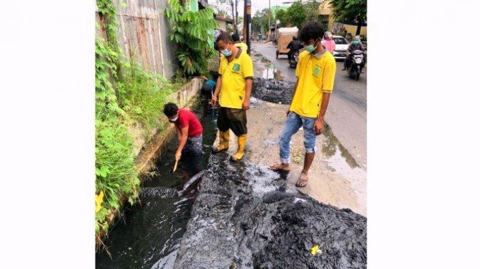 Saluran Air di Jalan Ampera Diperbaiki Usai Ditinjau Bobby Nasution, Ini Komentar Warga!