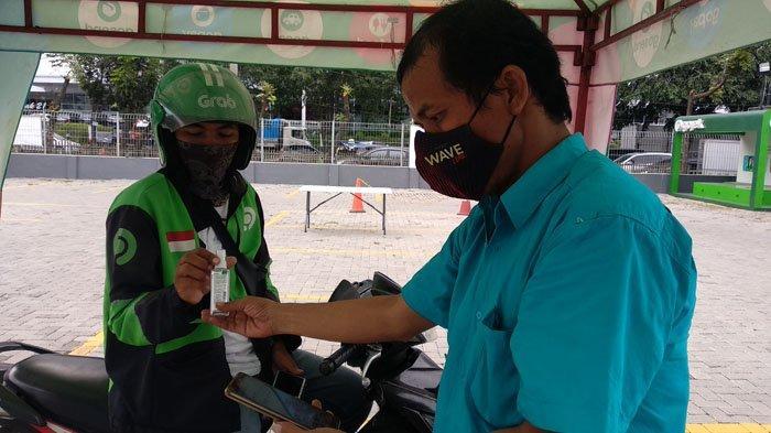 Dapat Layanan J3K di Posko Aman, Driver Gojek Makin Percaya Diri Saat Bekerja