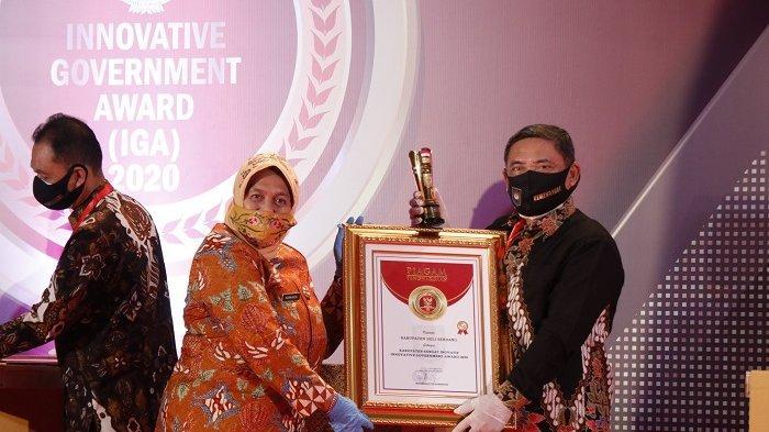 Penghargaan Innovative Government Award Dorong Inovasi Pemkab Deliserdang