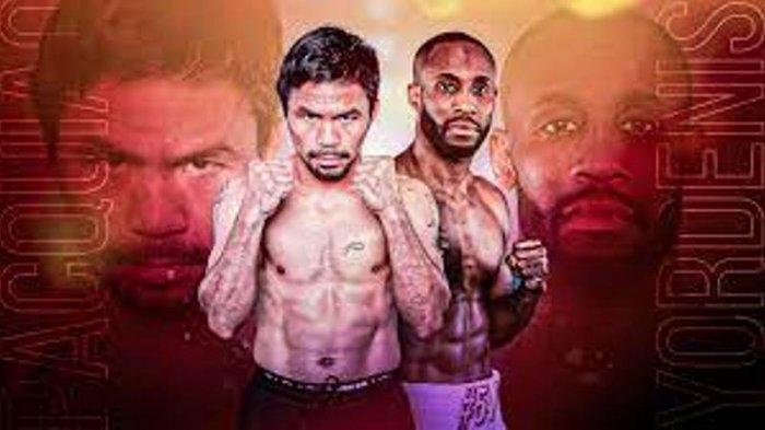 JADWAL SIARAN Langsung Tinju: Manny Pacquiao vs Yordenis Ugas, Peluang Pacman Juara WBA Lagi