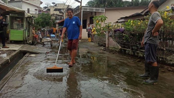Banjir Dua Bulan di Gang Subur Lama Akhirnya Surut, Ini yang Dilakukan Dinas PU Medan