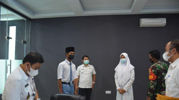 Riko dan Najwa Salsabila, Pelajar Asal Langkat Terpilih Masuk Paskibraka Pemprov Sumut