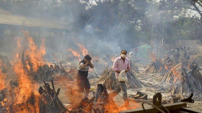 SOSOK Pahlawan di Tengah Tsunami Covid-19 India, Tunda Pernikahan Putrinya demi Tangani Jasad Covid