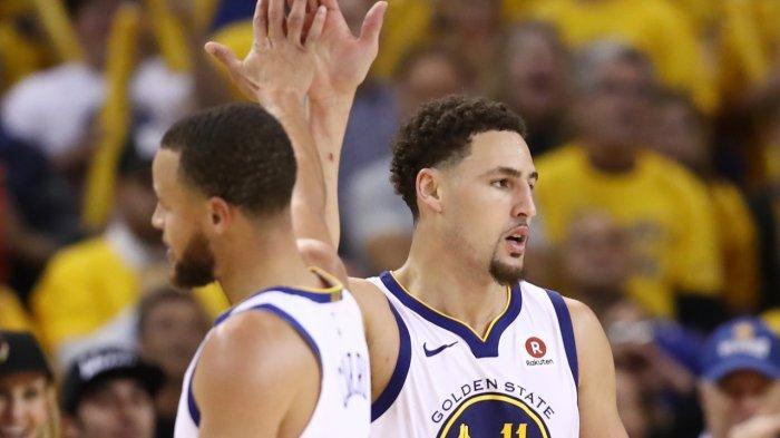 Stephen Curry Tak Sabar Kembali Duet Bareng Klay Thampson di NBA Musim Ini, 2 Tahun Menepi