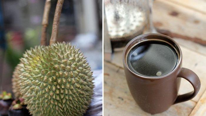 Pria Minahasa Meninggal setelah Makan Durian, Benarkah Tidak Boleh Dikonsumsi Bersama Kopi?