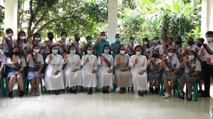 SMA Santa Maria Medan Terpilih Jadi Sekolah Duta Anti Human Trafficking, Dilantik JPIC dan SFD