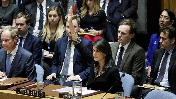 Pascakalah Telak soal Yerusalem, Amerika 'Hukum' PBB, Indonesia Tunggu Giliran?
