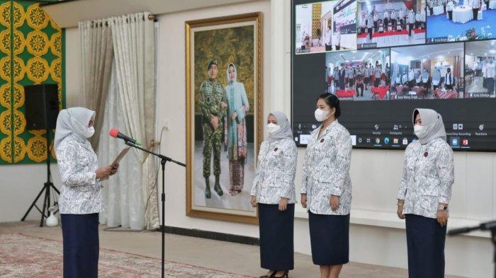 Kahiyang Ayu Resmi Dilantik sebagai Ketua YKI Cabang Medan