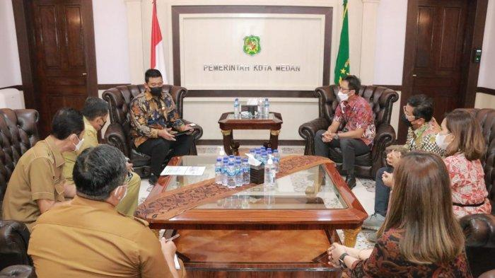 Bobby Nasution Ajak BRI Kolaborasi Pasarkan Produk UMKM