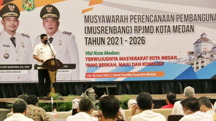 Buka Musrenbang RPJMD, Bobby Nasution Instruksikan OPD Harus Mampu Jabarkan 5 Program Prioritas