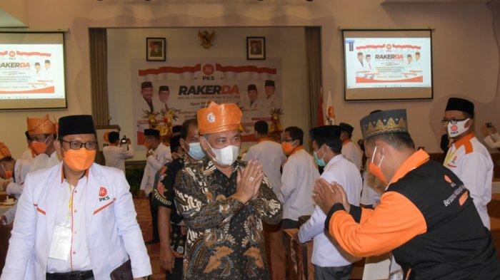 Wabup Ali Yusuf Siregar Hadiri Acara Puncak Rakerda DPD PKS Kabupaten Deli Serdang Tahun 2021