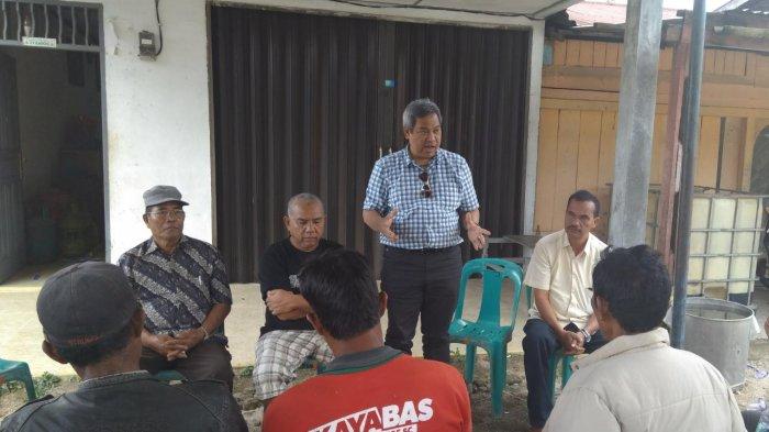 Dr Eddy Berutu Janji Buka Akses Jalan dan Perbaiki Daya Saing di Dairi