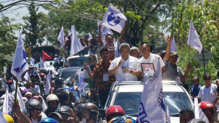Ribuan Pendukung Eddy-Jimmi Konvoi di Jalan Protokol