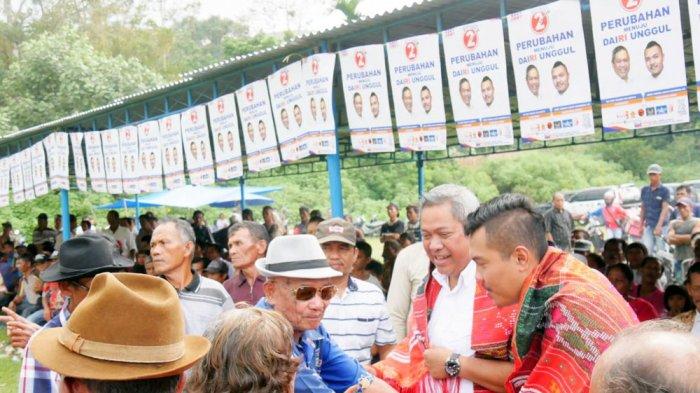 Eddy Berutu Datangi Desa Polling, Warga: Kami Telah Lama Menanti Perubahan