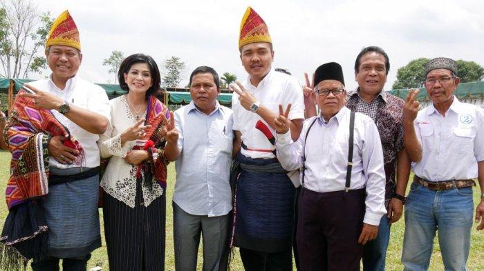 Pasangan Calon Bupati-Wakil Bupati Dairi Eddy-Jimmy Bangga dengan Antusias Warga Kecamatan Berampu