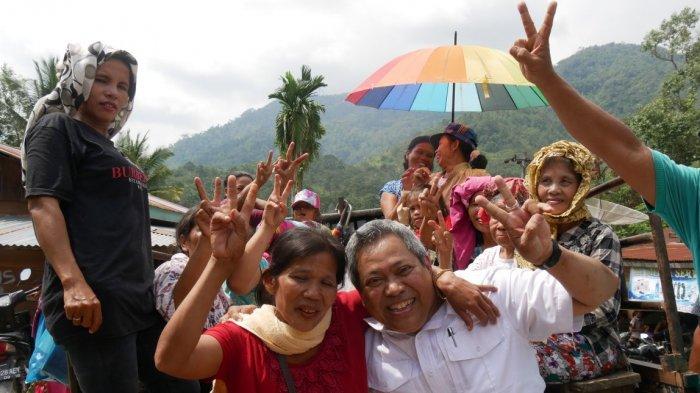 Eddy Berutu Blusukan ke Pardomuan, Sosialisasikan Prioritas Program 'Dairi Unggul'
