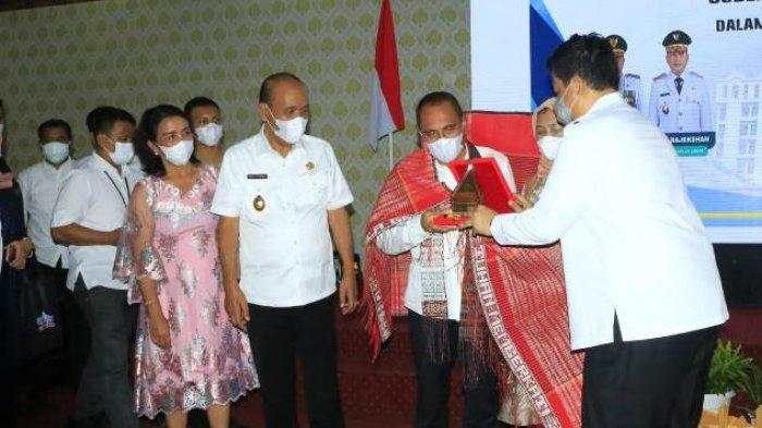Kabupaten Samosir Dinyatakan PPKM Level 2, Edy Rahmayadi Minta Ini ke Semua Kepala Desa