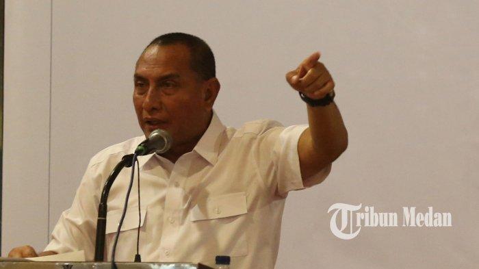 Gubernur Sumut Bilang Masih Ada Manusia Dengki di Dunia Ini saat Ditanya Soal Kasus Bom Makassar