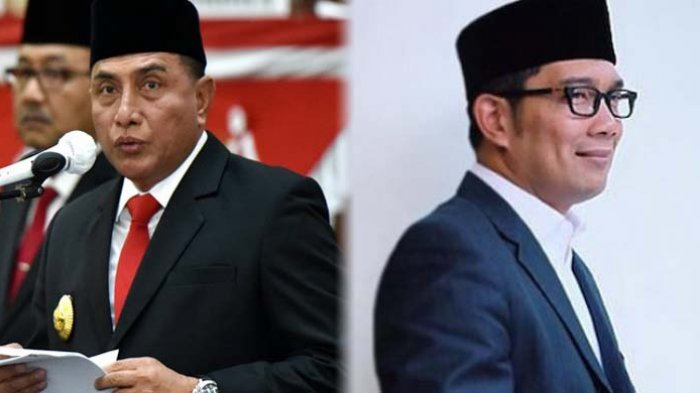 Gubernur Ridwan Kamil Kunjungi Gubernur Edy Rahmayadi, Ada Rencana Berpasangan di 2024?
