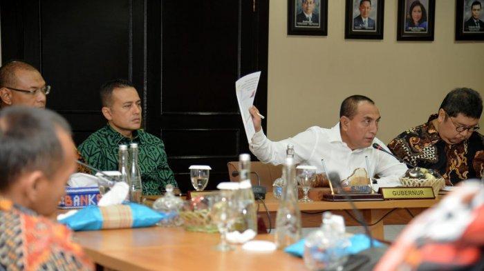 Gubernur Edy Rahmayadi Minta Dirut Bank Sumut yang Baru Menyaingi Perbankan Negara Tetangga