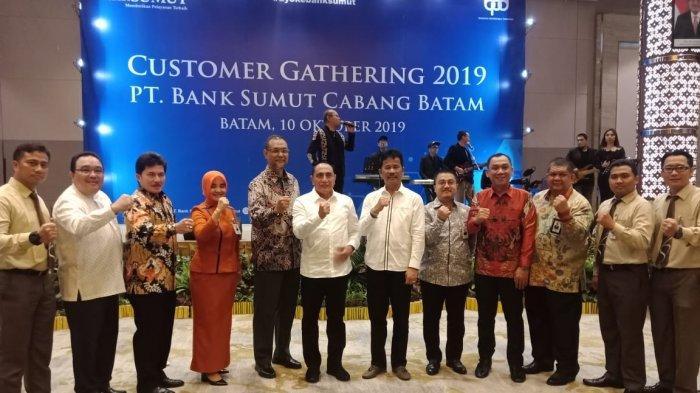 Customer Gathering Bank Sumut Batam Langsung Dihadiri Gubernur Edy Rahmayadi