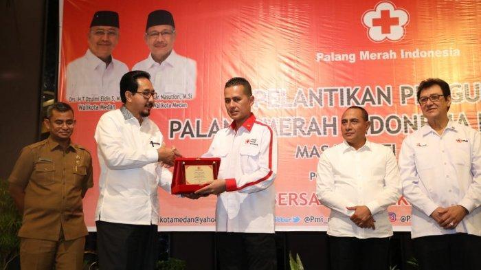 Musa Rajekshah Kembali Menjabat Ketua PMI Medan, Gubernur: Selamat untuk Pak Ijeck