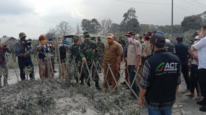 UPDATE Dampak Erupsi Gunung Sinabung, 1.109 Hektare Lahan Pertanian Rusak