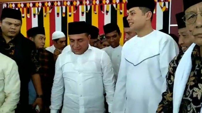 Dilantik Hari Ini, Edy-Ijeck Pawai ke Rumah Dinas Gubernur Kenakan Pakaian Melayu