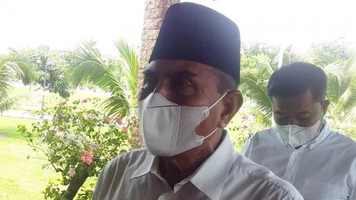 Gubernur Edy Klaim Kasus Covid-19 Melandai, Keterisian Tempat Tidur Rumah Sakit di Sumut 34 Persen